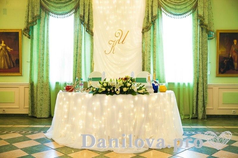 световое оформление задника на свадьбу фото